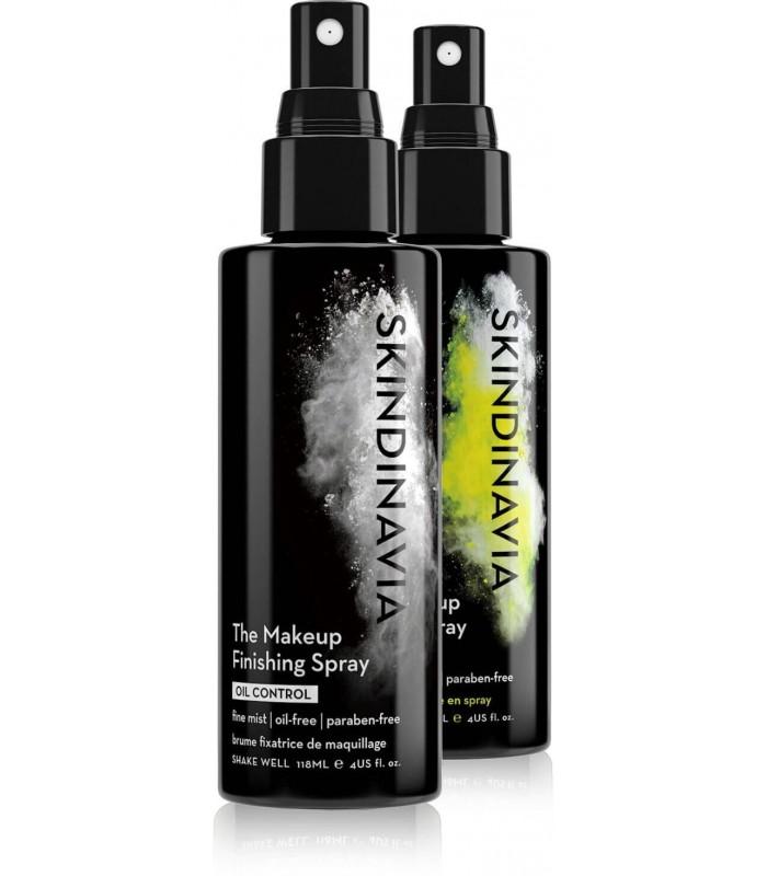 PACK DUO Primer Spray OIL CONTROL + Finishing Spray  OIL CONTROL 4 oz - 118 ml SKINDINAVIA