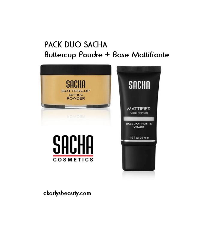 PACK DUO SACHA Buttercup Poudre + Base Mattifiante