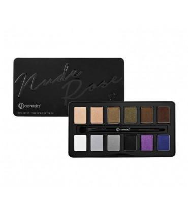Nude Rose Night Fall - 12 Color Eyeshadow Palette BH COSMETICS BH COSMETICS -  16.488