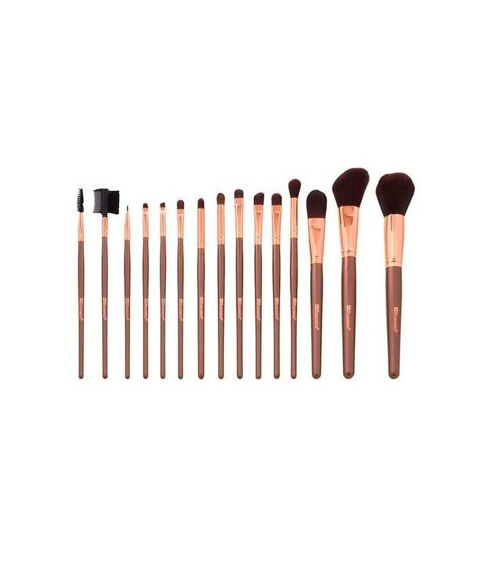 Rose Gold Brush Set - KIT 15  Pinceaux BH COSMETICS BH COSMETICS -  37.4