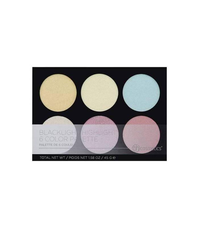 BLACKLIGHT Highlight - 6 Color Palette - BH COSMETICS