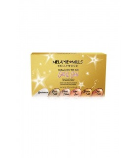 GET IT GIRL Gleam on the Go Body Radiance Collection Set - KIT 1oz - 28g - 30ml - Melanie Mills Hollywood