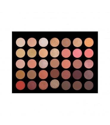 35 COLOUR ROSE GOLD EyeShadow Palette CROWNBRUSH CROWNBRUSH -  29
