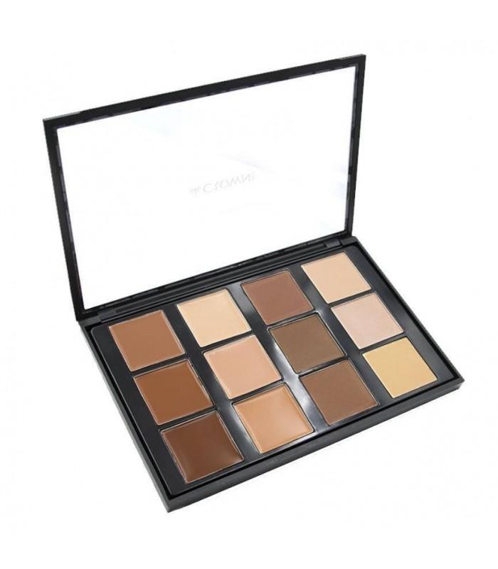PRO CONCEAL and CONTOUR Collection - Palette Concealer et Contour - CROWNBRUSH CROWNBRUSH -  34.9