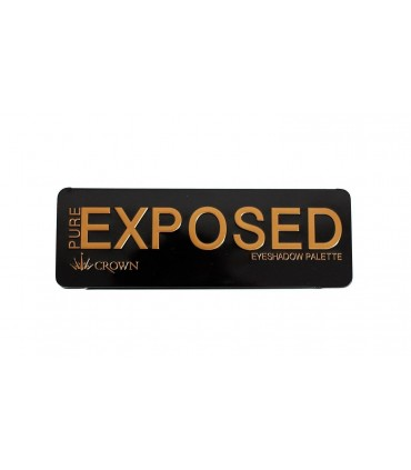 PURE EXPOSED EYESHADOW Palette CROWNBRUSH CROWNBRUSH -  28
