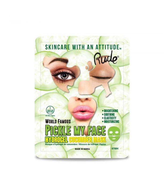 My Hydrogel Face Mask Masque Cucumber Pickle Au Concombre Rude PikZuwOTXl
