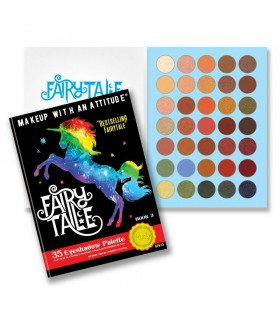 FAIRY TALE - 35 EYESHADOW PALETTE- RUDE COSMETICS