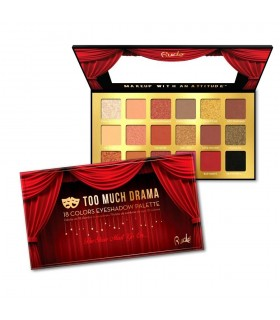 TOO MUCH DRAMA - 18 EYESHADOW PALETTE- RUDE COSMETICS
