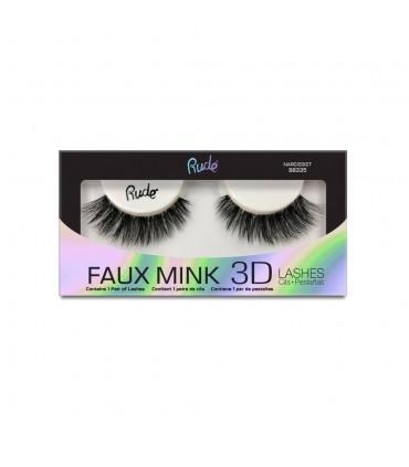 FAUX MINK 3D LASHES - Narcissist - RUDE COSMETICS