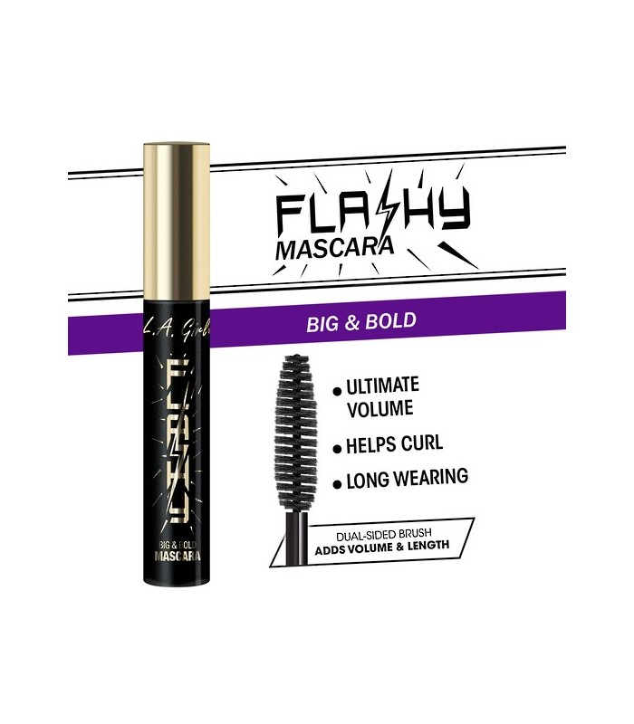 FLASHY MASCARA 8ml L.A GIRL COSMETICS LA GIRL -  8.4