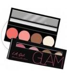 VISAGE -  BEAUTY Brick Blush -  Catalogue Produits LA GIRL USA sur ckarlysbeauty.com  Beauty Brick Blush Collection GLAM L A GI