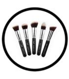 LES ACCESSOIRES Elite Brush Set beige COASTAL SCENTS CKARLYSBEAUTY.COM MAQUILLAGE| ACCESSOIRES Pinceaux - Eponges - Entre