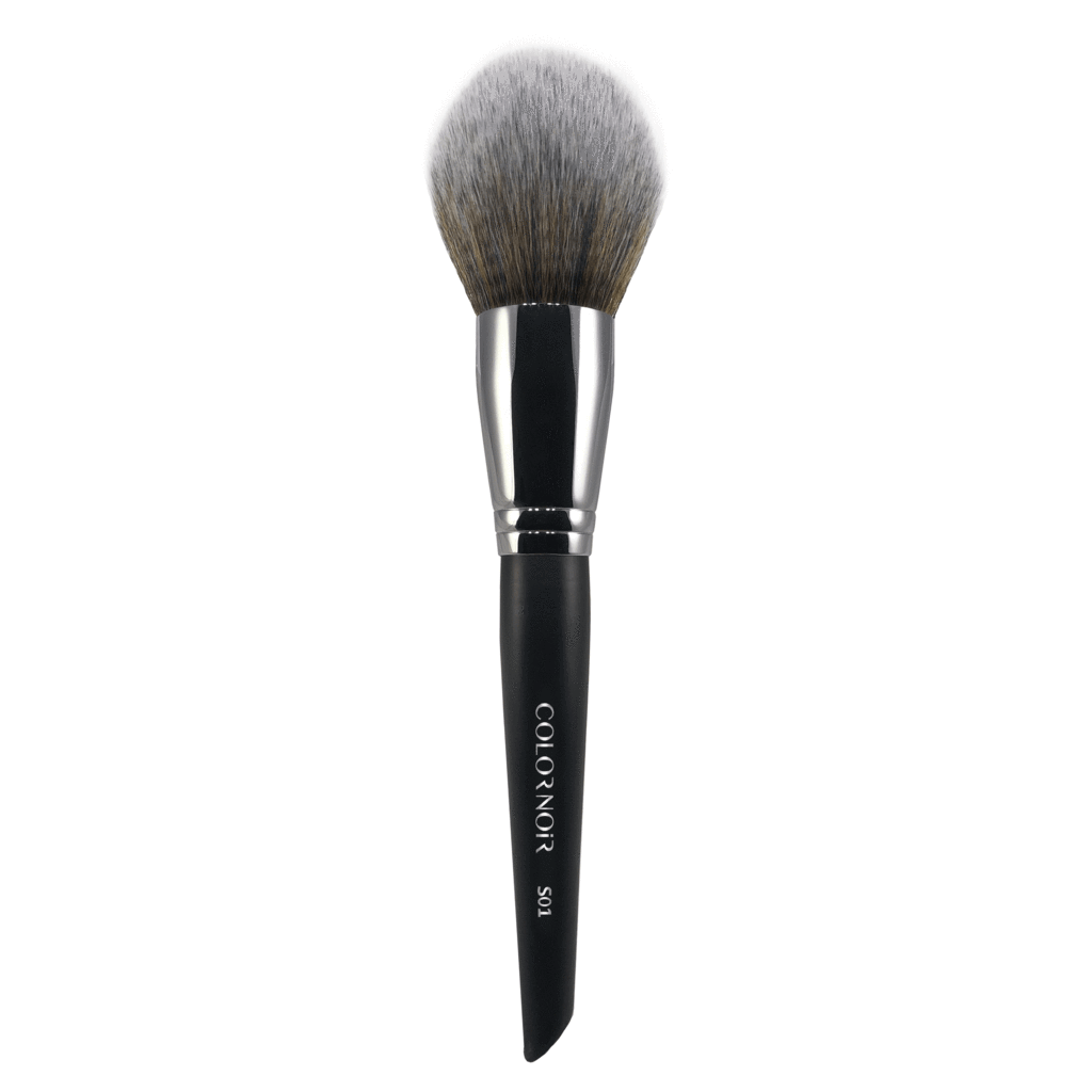 S01 - ROUND PREMIUM POWDER BRUSH - COLORNOIR