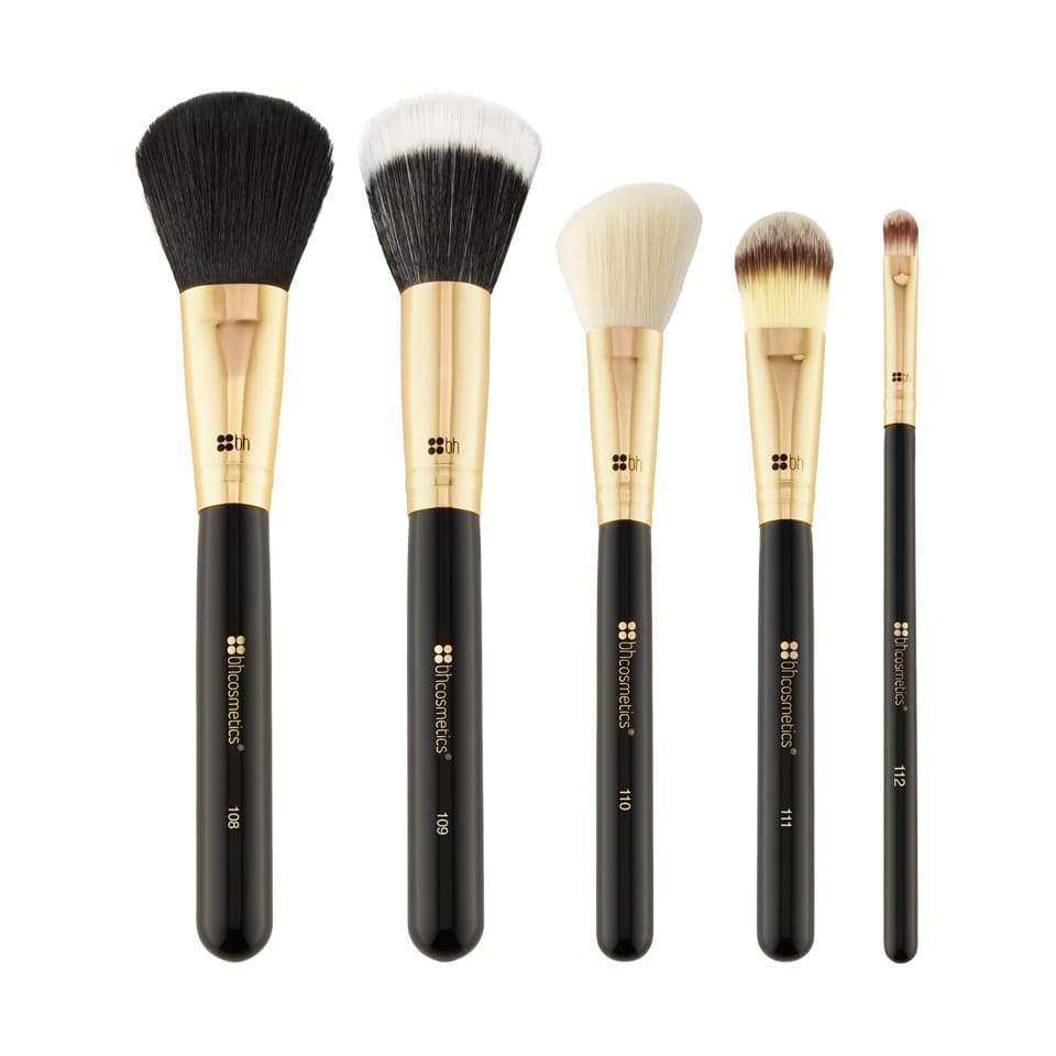 FACE ESSENTIAL 5 PIECE BRUSH SET - KIT 5 Pinceaux Visage BH COSMETICS
