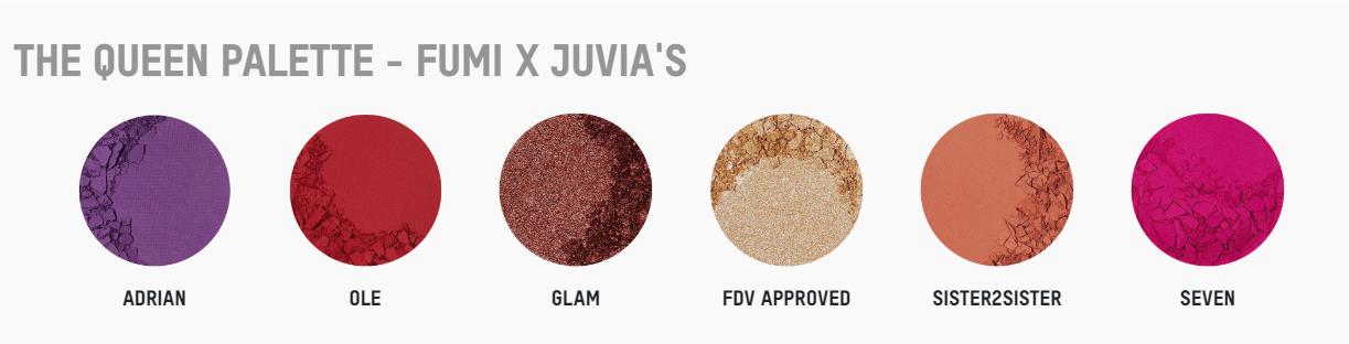 THE QUEEN FUMI Eyeshadow Palette JUVIAS PLACE sur ckarlysbeauty.com