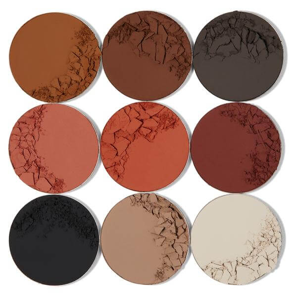 WARRIOR II EYESHADOW MATTE PALETTE JUVIAS PLACE