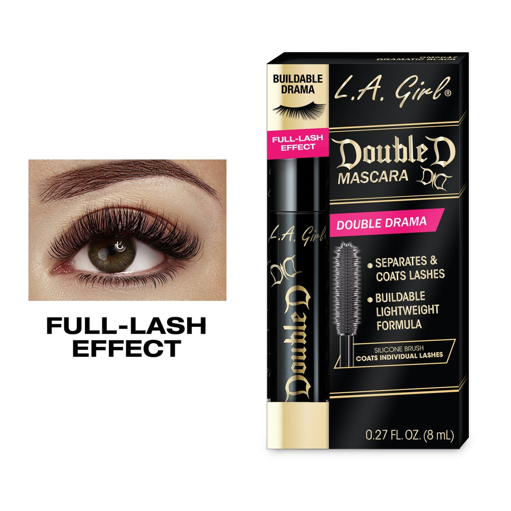 DOUBLE DRAMA MASCARA 8ml L.A GIRL COSMETICS