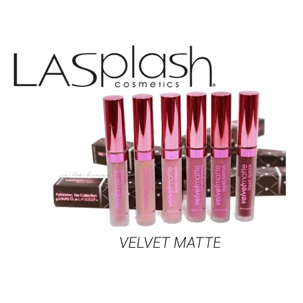 LASplash VELVETMATTE Liquid lipstick COLLAB BY LAURAG